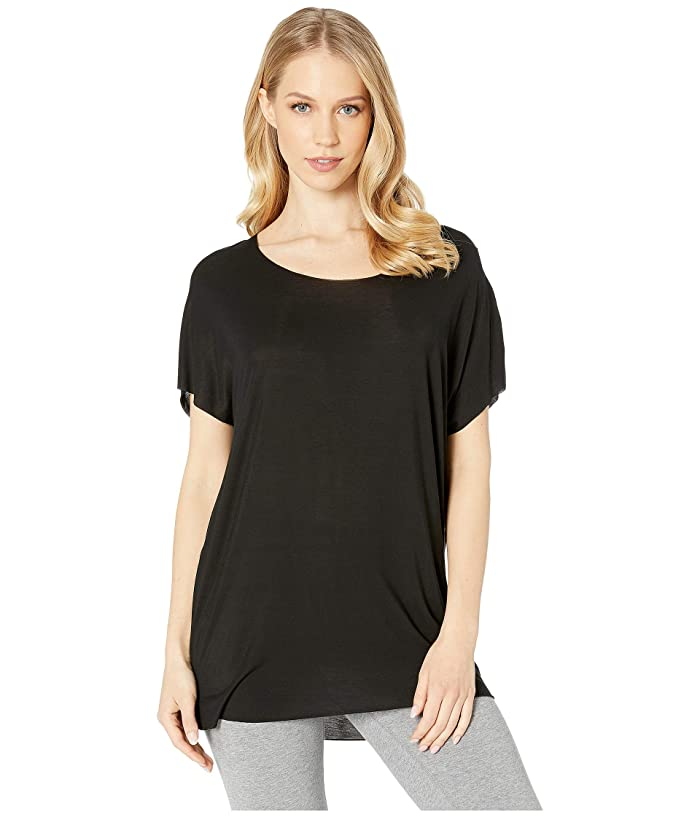 Commando Covet Oversized Tee CSS102 (Black) Women's T Shirt