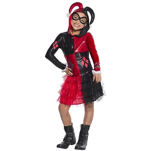 430892ddfe1b Rubie s Costume Girls DC Comics Harley Quinn Costume