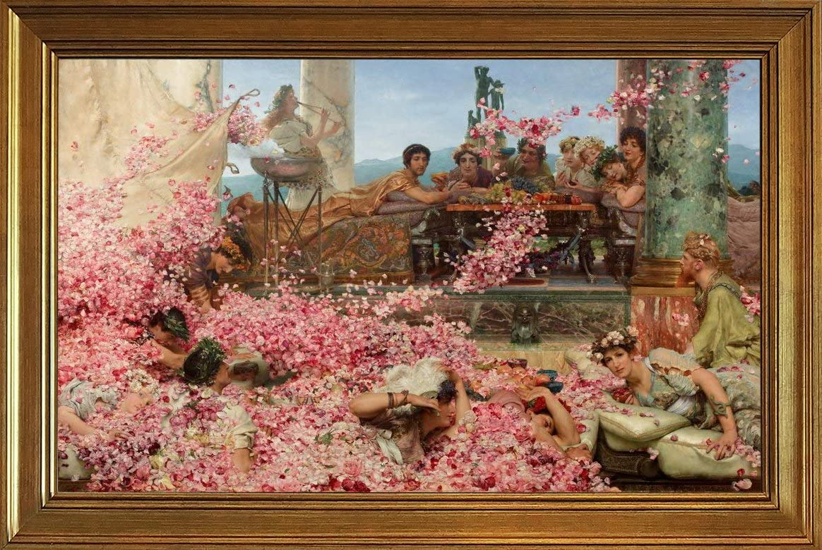 Berkin Arts Classic Framed 国内在庫 Lawrence Canvas Tadema Pr Alma 高級な Giclee