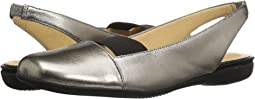 Pewter Metallic Leather/Pearlized Patent