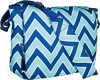 Zigzag Lucite Kickstart Messenger Bag