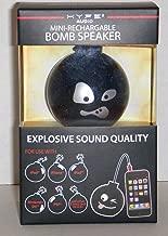 Hype Bomb Rechargeable Mini Portable Keychain Speaker w/ 3.5mm audio jack