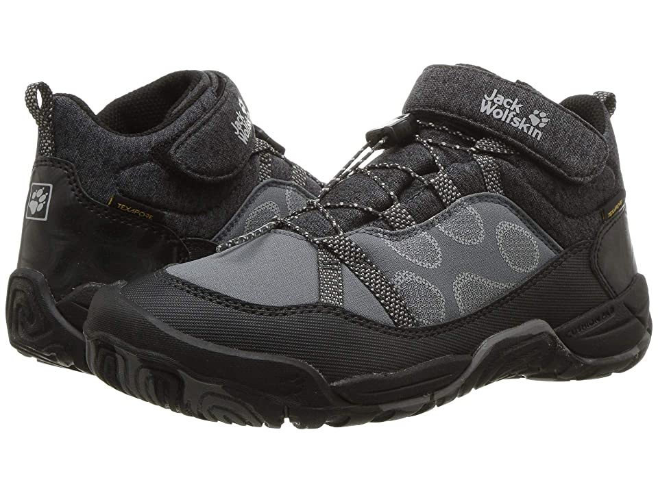 Jack Wolfskin Kids Jungle Gym Texapore Mid (Toddler/Little Kid/Big Kid) (Wolf) Kids Shoes