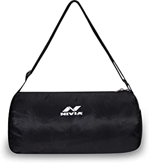 Nivia 6853 Polyester Basic Duffle Bag, Youth (Black)