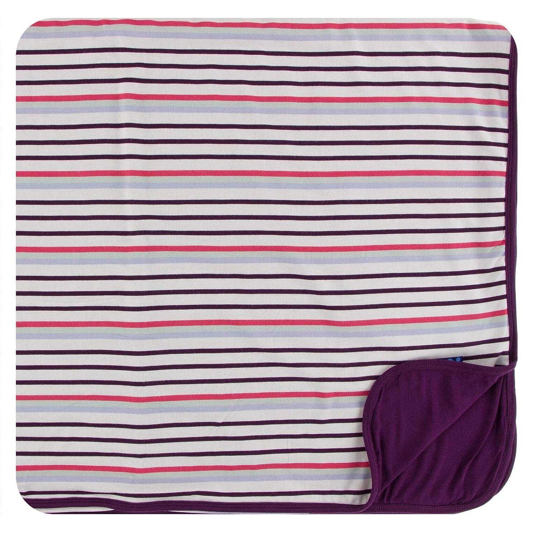 KicKee メイルオーダー Pants Print Toddler Blanket Chemistry 販売実績No.1 - Stripe One Size
