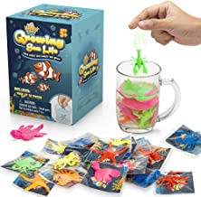 Water Growing Sea Creatures - Under The Sea Animals - 25 Pack - Individually Wrapped Favors - Expandable Animals - Party Supplies, Goodie Bags Fillers- Great Gift for Boys and Girls - Fit as Easter Egg Fillers