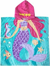 Hooded Towel for Girls 1 to 6 Years Old Kids and Toddlers 100% Premium Cotton Ultra Soft Super Absorbent Extra Large 48 x ...