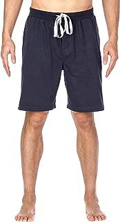 noble mount mens premium knit lounge sleep shorts