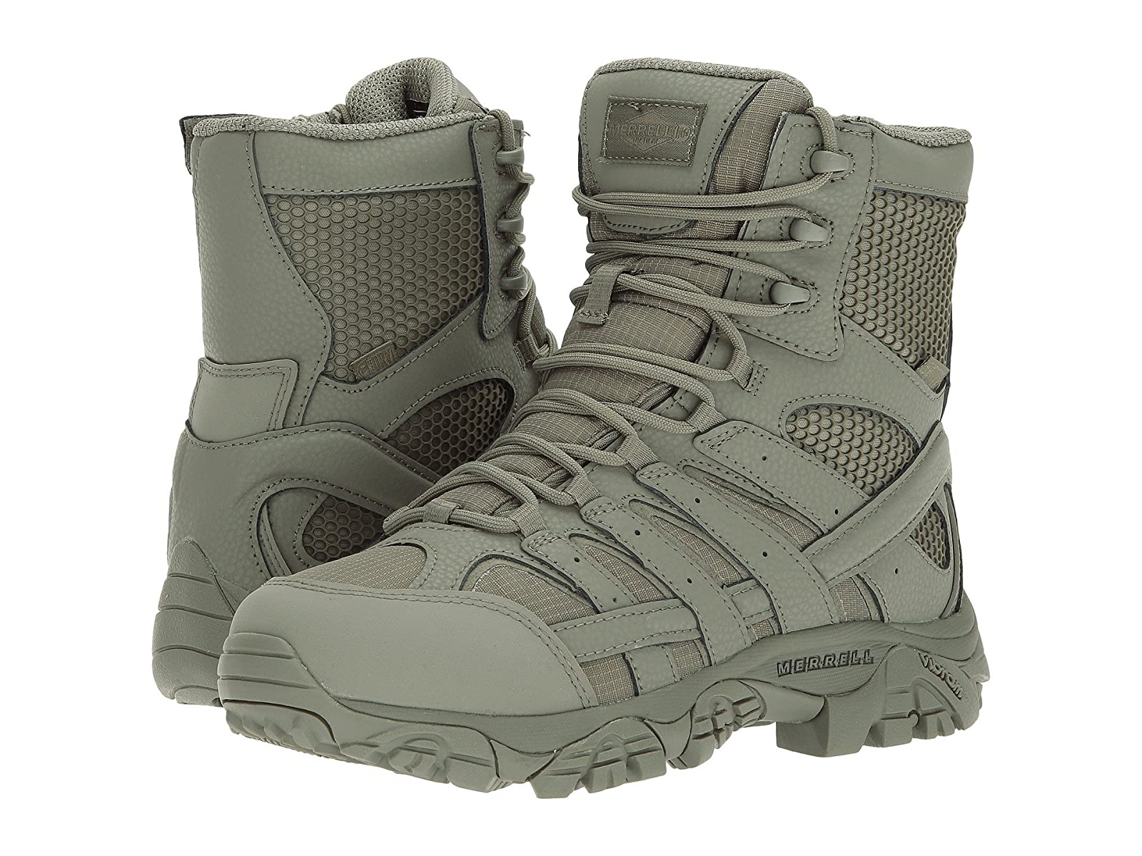 "Merrell Work Moab 2 8"" Tactical WaterproofEconomical and quality shoes"