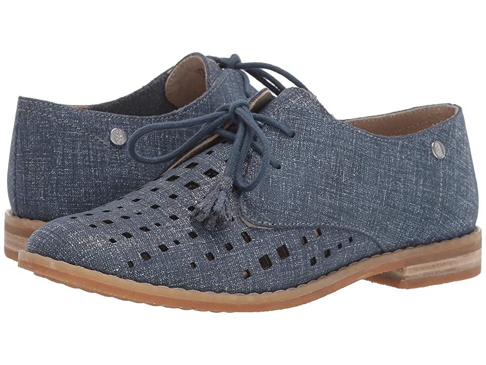 0702d0d782590 Hush Puppies Chardon Perf Oxford (Night Shadow Suede) Women s Shoes
