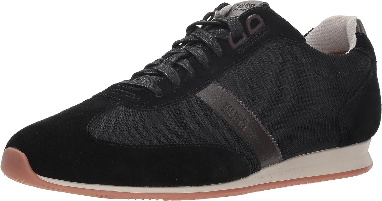 Hugo Boss Men's Orlando Low Suede Sneaker