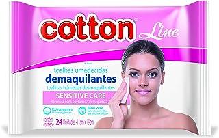 Toalha Demaquilante 24 Unid, Cotton Line