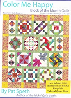 color me happy quilt pattern