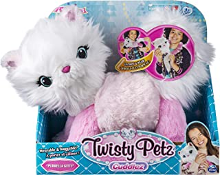 Twisty Petz Cuddlez Purrella Kitty Transforming Collectible Plush for Kids Aged 4 & Up