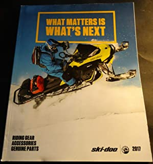 2017 SKI-DOO SNOWMOBILE CLOTHING & ACCESSORIES CATALOG 175 PAGES (514)