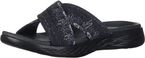 Skechers Performance Wohommes on-the-Go 600-Monarch Slide Sandal,noir,5 M US