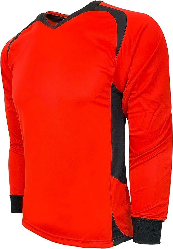Adult Medium SELECT Ohio Long Sleeve Goalkeeper Jersey Orange//Yellow