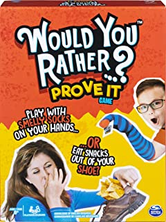 Would You Rather…? Prove It, Hilarious Family Game of Demented Dilemmas, for Ages 8 & Up
