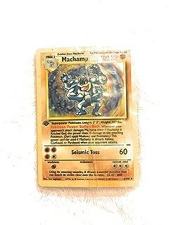 Pokemon Machamp - 8/102 - Holo Rare - Unlimited Edition - Base Set