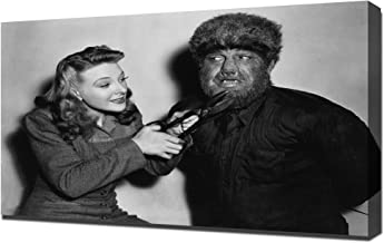 Chaney Jr, Lon (Wolf Man, The) 01 - Canvas Art Print