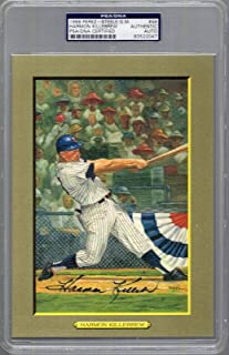 Harmon Killebrew Signed Hall Of Fame Greatest Moments Card Twins Slabbed - PSA/DNA Certified - Baseball Slabbed Autographed Cards