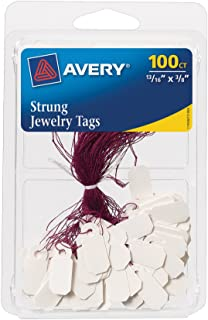 Avery Jewelry Tags, 0.8125 x 0.375 Inches, Pack of 100 (6731)