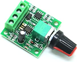 Gonioa Low Voltage Dc 1.8v 3v 5v 6v 12v 2A Motor Speed Controller PWM 1803BK Adjustable Driver Switch