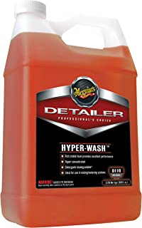 Meguiar's Hyper-Wash – Foaming Car Wash Lifts Off Dirt and Leaves a Rich Shine – D11001, 1 gal