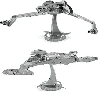 Metal Earth 3D Model Kits - Star Trek Set of 2 - Klingon Vor'Cha Class & Klingon Bird-of-Prey