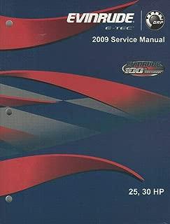 2009 EVINRUDE E-TEC OUTBOARD 25 & 30 HP SERVICE MANUAL P/N 5007802 (205)