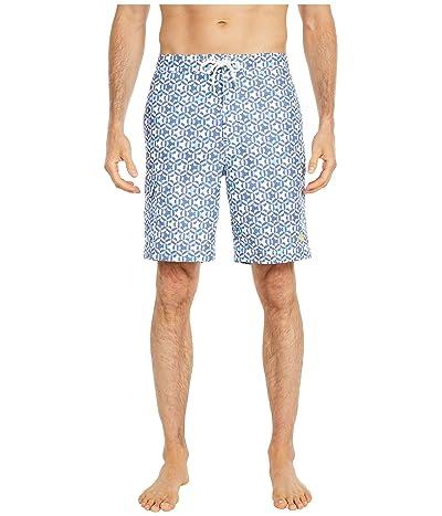 Tommy Bahama Baja Kaleidoscope Cay Boardshorts (Ocean Deep) Men