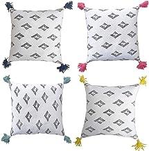 Designer Cushion Pillow Cover Pack Set of 4 of 45X45cm