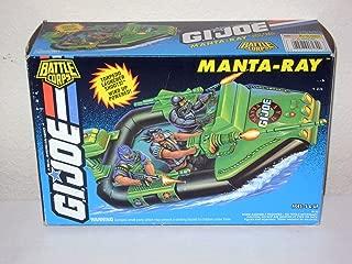 GI JOE 1993 Battle Corps Manta Ray Vintage Vehicle