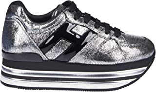 HOGAN Luxury Fashion Womens HXW4730T5489UP188B Silver Sneakers | Fall Winter 19