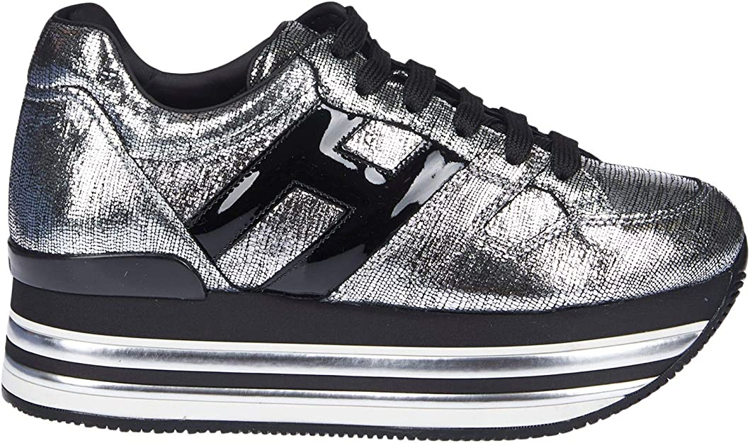 Hogan Luxury Fashion Donna HXW4730T5489UP188B Argento Sneakers ...
