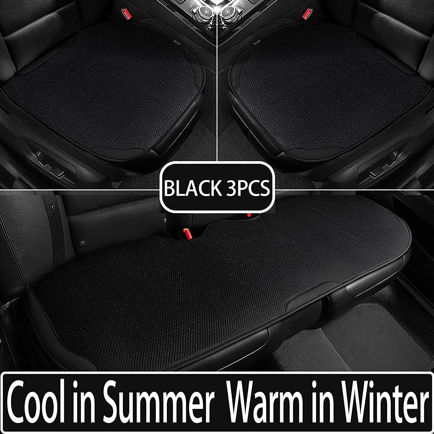 hikeaglauto Car Seat Covers Houston Mall Cushion Pad Auto 2021 new 3D Mat Breathab for