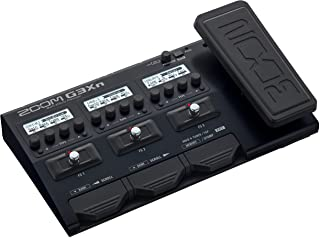 Zoom G3Xn Guitar Multi-Effects Processor with Expression Pedal, With 70+ Built-in..