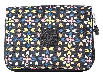 Kipling Money Love RFID Wallet (Floral Mozzaik) Handbags