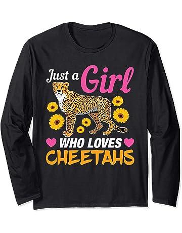 Solo una ragazza che ama i ghepardi Maglia a Manica