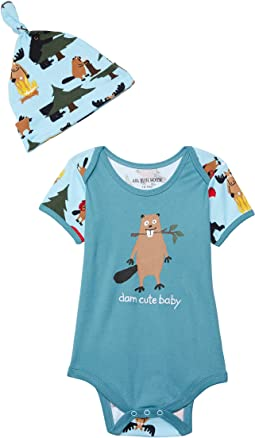 Life In The Wild Bodysuit with Hat (Infant)