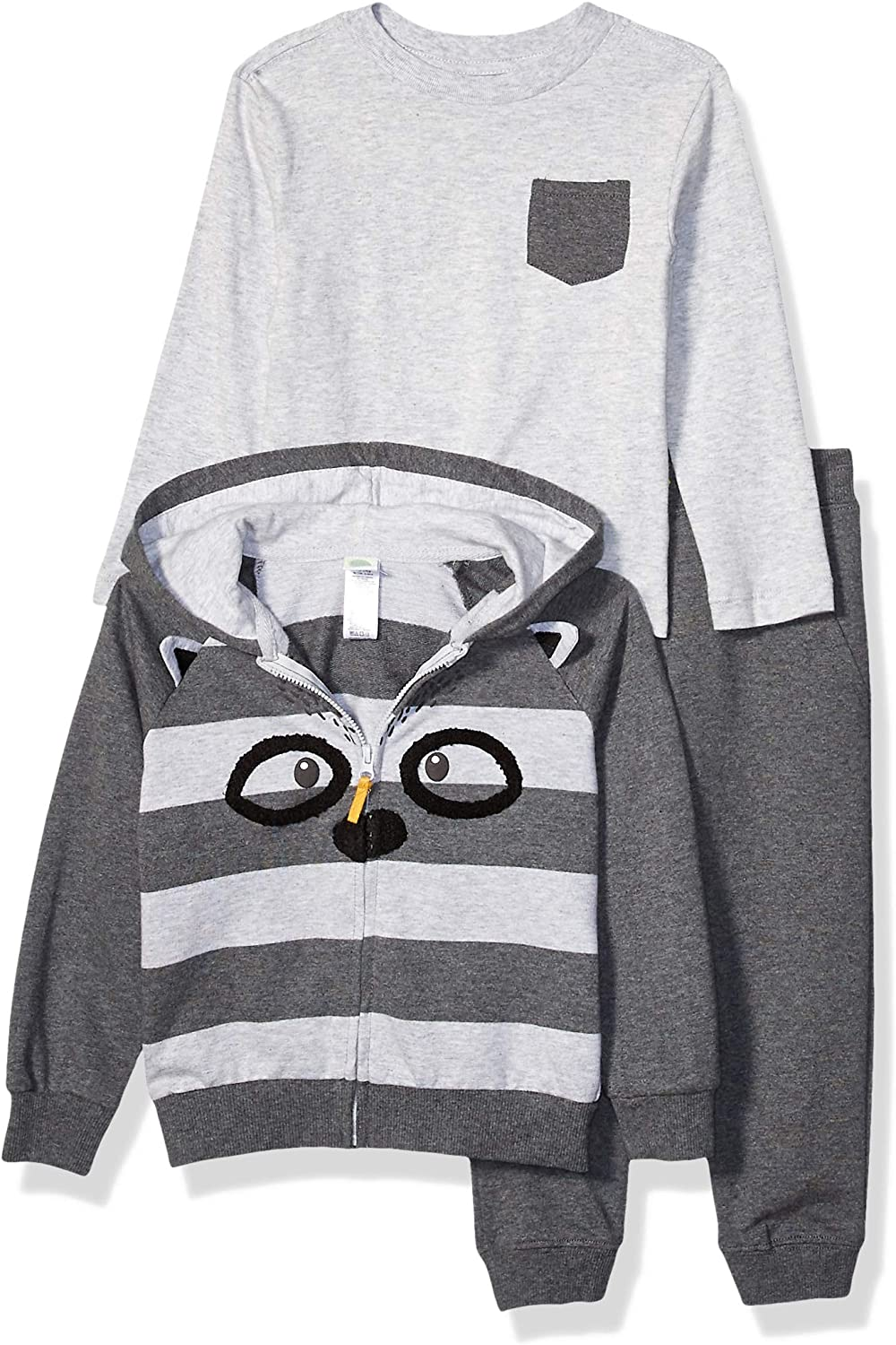 Little Me Boys' Toddler 3pc Hoodie Sets