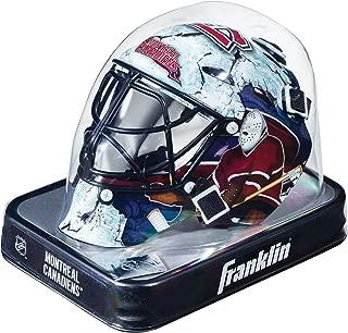 NHL League Logo Montreal Canadiens Mini Goalie Mask