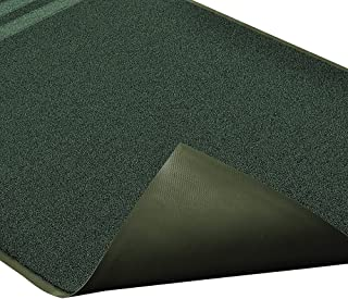 """Notrax 137 Opera Entrance Mat, for Upscale Entrances, 6' Width x 10' Length x 3/8"""" Thickness, Hunter Green"""