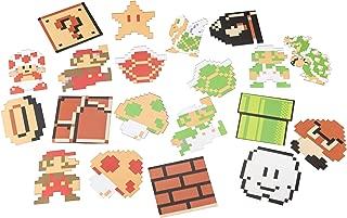 Paladone Nintendo Super Mario Bros. Character Shaped Drink Coasters - 20 Pack