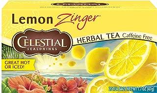 Celestial Seasonings Lemon Zinger Tea, 20 ct