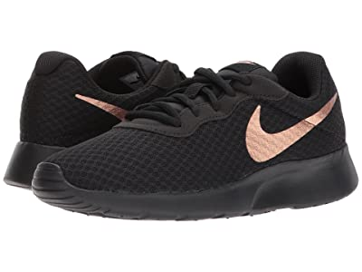 Nike Tanjun (Black/Metallic Red Bronze) Women