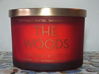 Sand + Fog The Woods Double Wick Candle 12 Oz