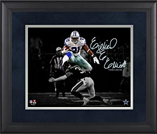 Ezekiel Elliott Dallas Cowboys Framed 11