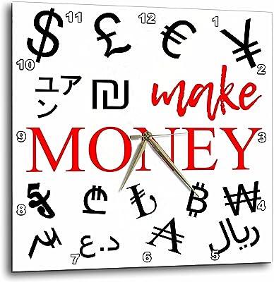 Amazon com: 3dRose Alexis Design - Typography Money Symbols