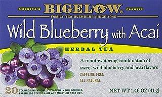 Bigelow Tea Wild Blue Berry Acai Bag, 1.46 oz, 20 ct